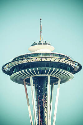 Photograph - Untitled Space Needle by Brett Nelson