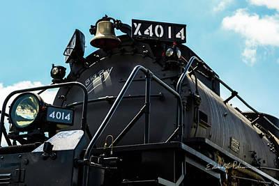 Photograph - Union Pacific Big Boy 4014 by Edward Peterson