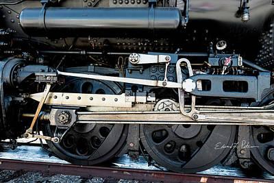 Photograph - Union Pacific Big Boy 4014 Wheels by Edward Peterson