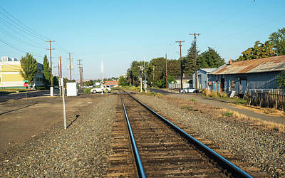Photograph - Up Tracks In Pendleton by Tom Cochran