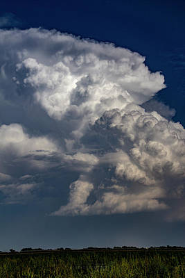 Art Print featuring the photograph Updrafts And Anvil 008 by NebraskaSC