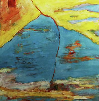Painting - Uplink by Evy Olsen Halvorsen