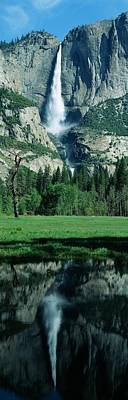 Photograph - Upper And Lower Yosemite Falls And by Visionsofamerica/joe Sohm