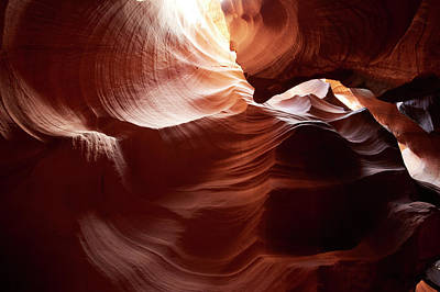 Arizona Photograph - Upper Antelope Canyon Slot Canyon by Cultura Exclusive/ryan Benyi Photography