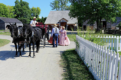 Photograph - Upper Canada Village by Gary Corbett