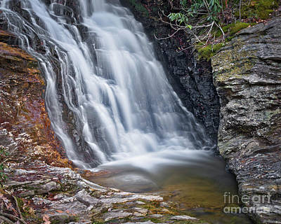 Photograph - Upper Cascade 2 by Patrick M Lynch