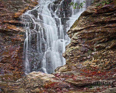 Photograph - Upper Cascade 3 by Patrick M Lynch