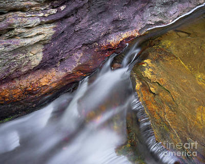 Photograph - Upper Cascade 9 by Patrick M Lynch