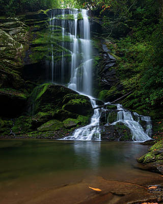 Photograph - Upper Catawba Falls, North Carolina by Mike Koenig