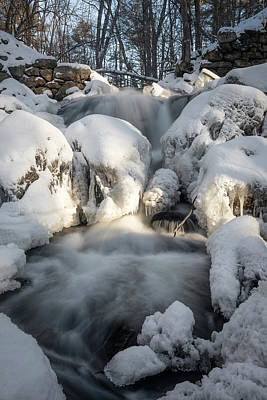 Photograph - Upper Falls - Arctic by Brian Hale