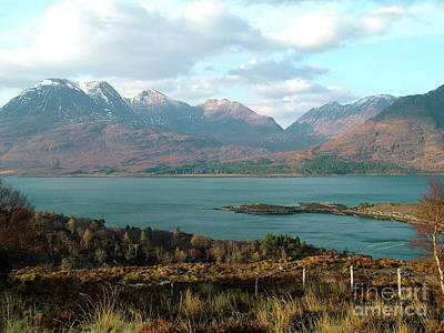 Photograph - Upper Loch Torridon And Beinn Alligin by Phil Banks