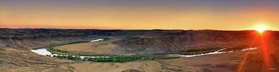 Photograph - Upper Missouri Panoramic by Leland D Howard