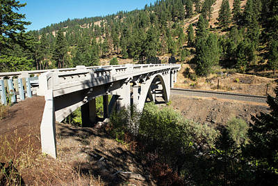 Photograph - Upper Perry Arch Bridge by Tom Cochran