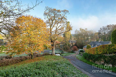 Photograph - Upper Slaughter In The Autumn by Tim Gainey