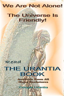 Photograph - Urantia Book Poster by Richard Omura