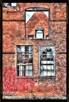 Photograph - Urban Wall in Detroit by Don Johnston