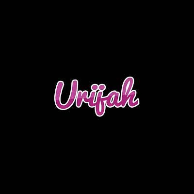 Digital Art - Urijah #urijah by TintoDesigns