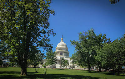 Photograph - Us Capitol by Lora J Wilson