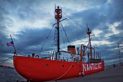Photograph - Us Lightship Nantucket by Joann Vitali