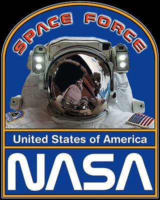Travel Rights Managed Images - U S Space Force Royalty-Free Image by Vikki King
