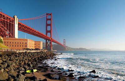 Photograph - Usa, California, Golden Gate Bridge And by Alan Copson