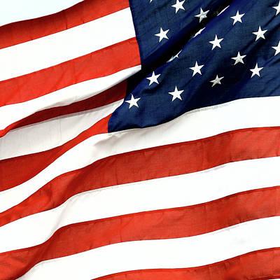 Wall Art - Photograph - Usa Flag by David G Paul
