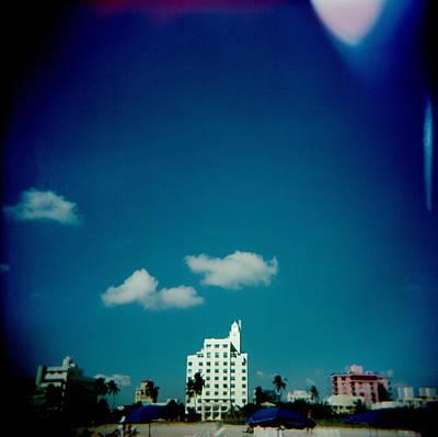 Photograph - Usa, Florida, Miami Beach, Oceanfront by Tony Hopewell