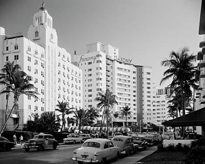 Photograph - Usa, Florida, Miami Beach, Resort by Superstock