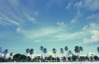 Photograph - Usa, Florida, Miami Beach, South Beach by Ken Reid