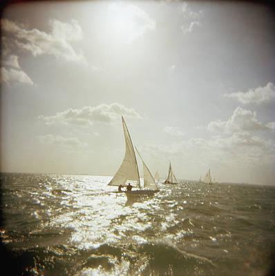 Photograph - Usa, Florida, Miami, Biscayne Bay by Rosanne Olson