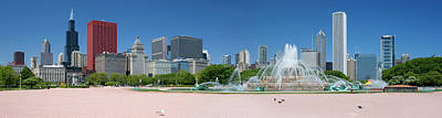 Photograph - Usa, Michigan, Chicago, Buckingham by Travelpix Ltd
