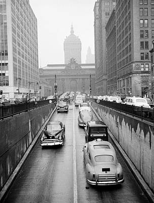 Photograph - Usa, New York City, Park Avenue Ramp by Superstock