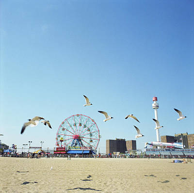 Photograph - Usa, New York, New York City, Brooklyn by Keri Pinzon