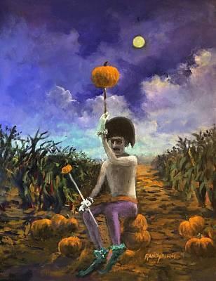 Painting - Ushering The Season by Randy Burns