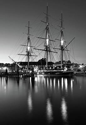 Photograph - Uss Constitution Boston by Juergen Roth