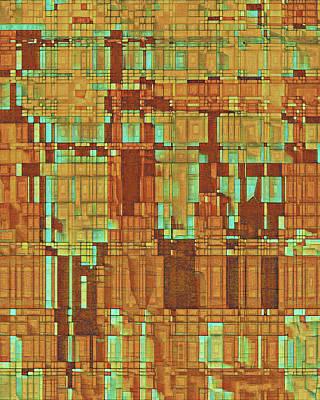 Digital Art - Utah In Abstract by David Hansen