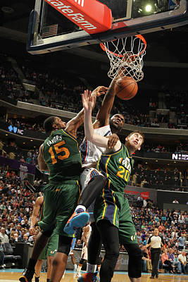 Photograph - Utah Jazz V Charlotte Bobcats by Kent Smith