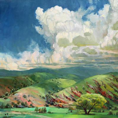 Painting - Utah Spring by Steve Henderson
