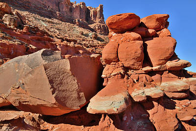 Photograph - Utah's Colorful Red Rocks Along Highway 191 by Ray Mathis