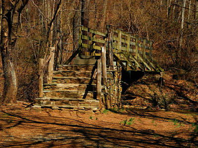 Photograph - Va At Bridge Near Rt Us 66 by Raymond Salani III