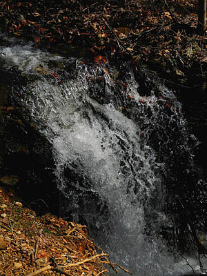 Photograph - Va At Section 4 Waterfall by Raymond Salani III