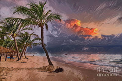 Painting - Vacation A18224 by Ray Shrewsberry