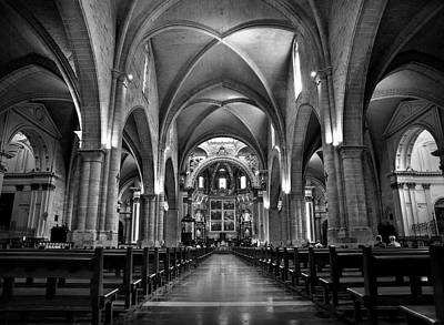 Photograph - Valencia Cathedral by Juan Vte. Muñoz