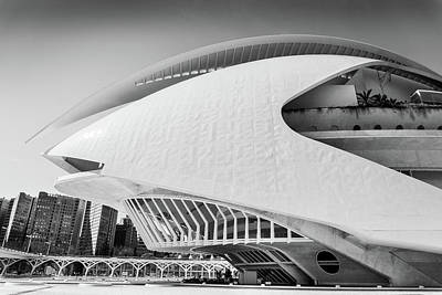 Photograph - Valencia Cultural Centre by Gary Gillette