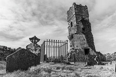 Photograph - Valentia Island Ireland Grave  by John McGraw