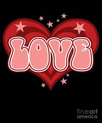 Digital Art - Valentine Love by Flippin Sweet Gear