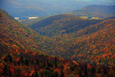 Photograph - Valley Below Mount Greylock 2 by Raymond Salani III