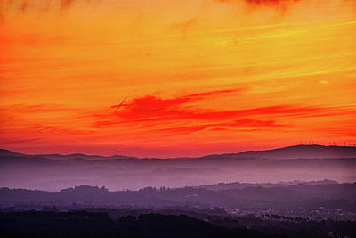 Photograph - Valley Fog Sunrise - Portugal by Stuart Litoff