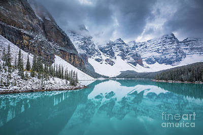 Photograph - Valley Of The Ten Peaks by Inge Johnsson