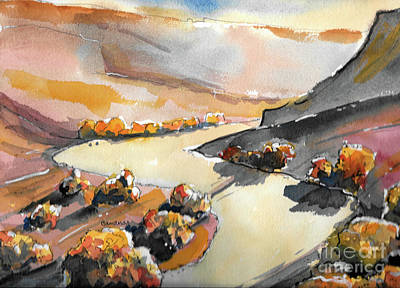 Painting - Valley Shadows by Terry Banderas